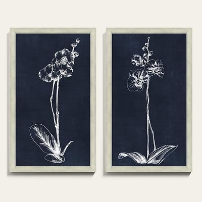 "White Orchid Art 30"" x 18"" - Ballard Designs"