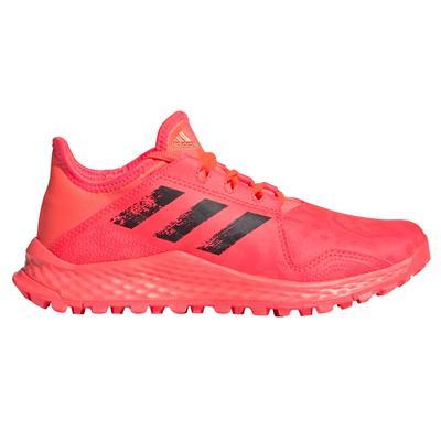 adidas Youngstar Junior Field Hockey Shoes Pink/Black