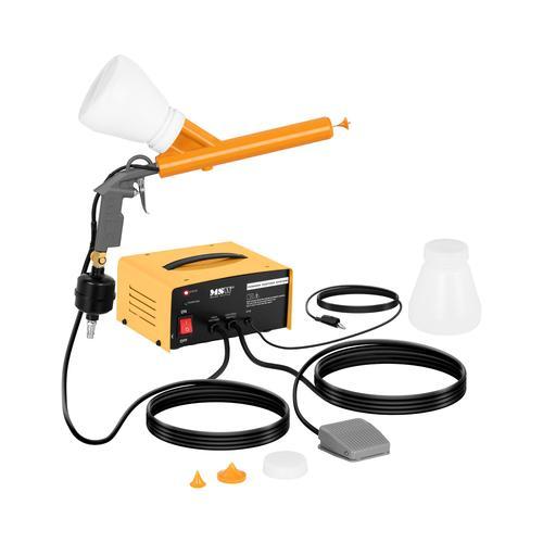 MSW Pulverbeschichtungsgerät - 2 x 650 ml - 0,7 bis 2,1 bar - 30 bis 50 kV MSW-PCS-200