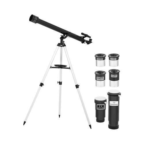 Uniprodo Teleskop - Ø 60 mm - 900 mm - Tripod-Stativ UNI_TELESCOPE_01