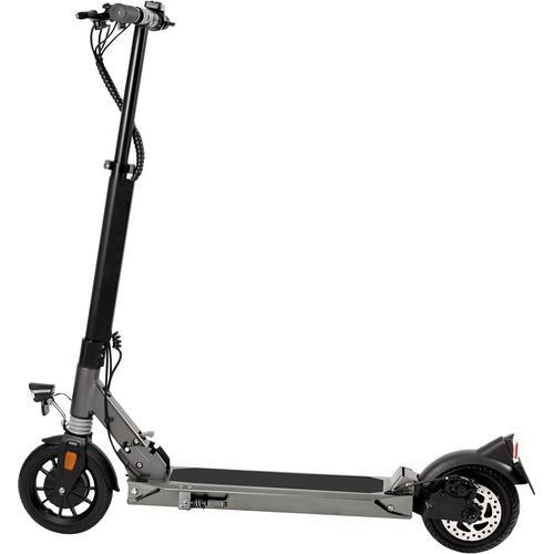 L.A. Sports E-Scooter Speed Deluxe 7.8-350 ABE grau Elektroscooter Elektroroller Motorroller Mofas