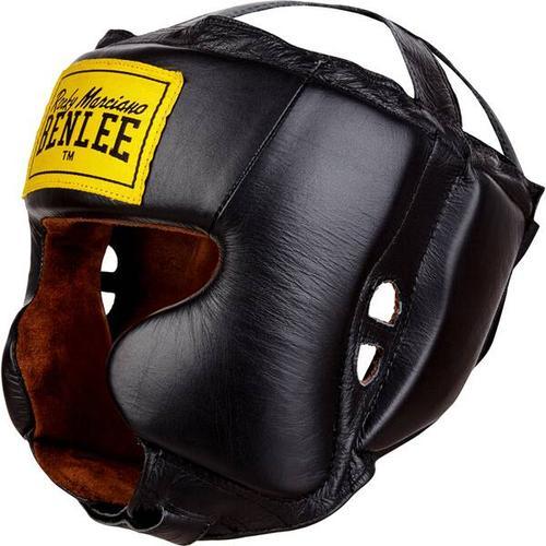 BENLEE Kopfschutz aus Leder TYSON, Größe L-XL in Black