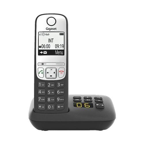 Schnurloses Telefon mit Anrufbeantworter »A690A« schwarz mehrfarbig, Gigaset