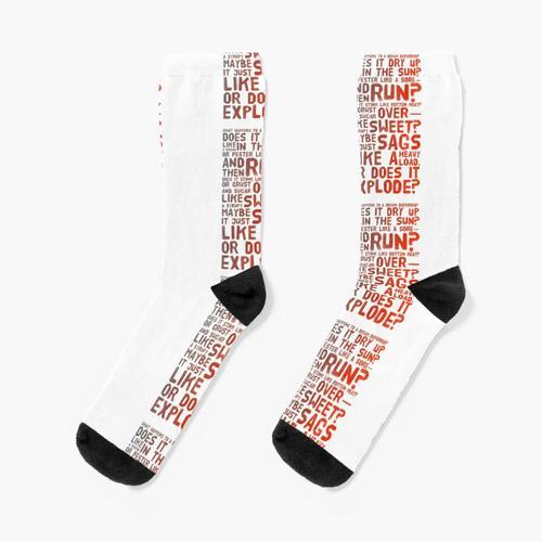 Was passiert mit einem aufgeschobenen Traum? Socken