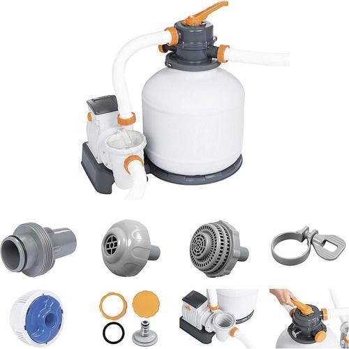 Bestway Flowclear Sandfilteranlage 5678 l/h Sandfilter Pool Filter Pumpe 58497