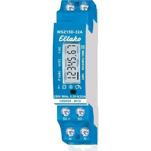 Eltako Wechselstromzähler WSZ15D-32A MID 28032015
