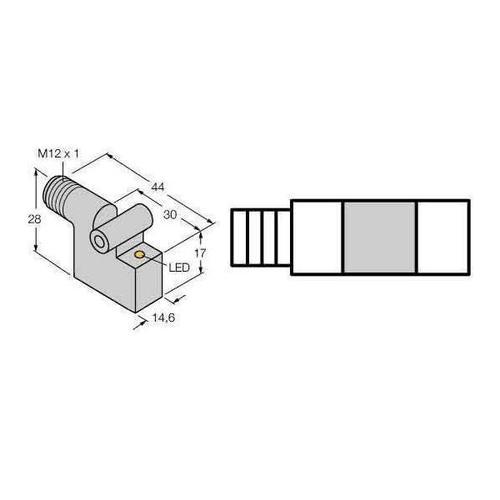 Turck Magnetfeldsensor BIM-IKT-AP6X-H1141 46210