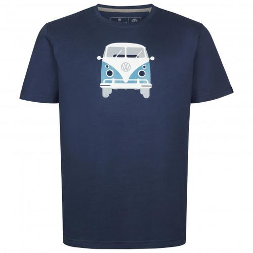 Elkline - Methusalem - T-Shirt Gr M blau/schwarz