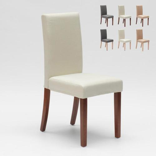 Esszimmerstuhl Esstischstuhl Gepolstert Henriksdal Design Comfort | Weiß