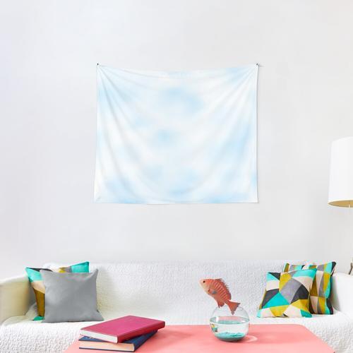Blue tie dye Wall Tapestry