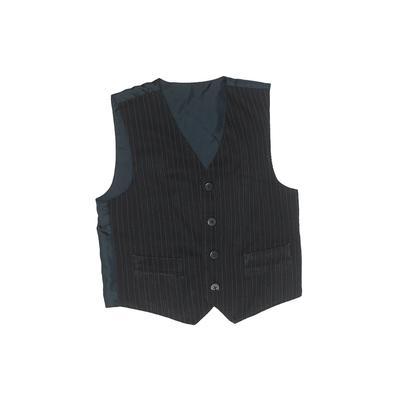 TFW Tuxedo Vest: Blue Stripes Ja...