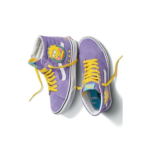 Vans x Simpsons - Sk8 Hi Lisa 4 Prez Purple - Skateschuhe