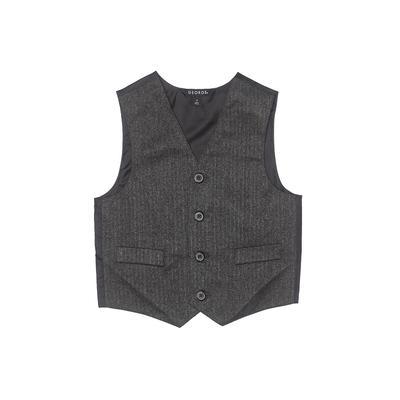 George Tuxedo Vest: Black Jacket...