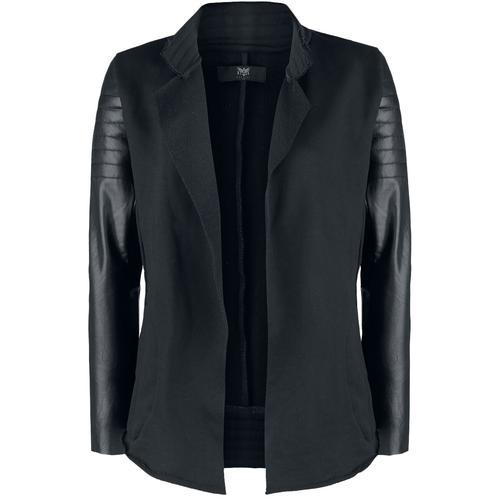 Black Premium by EMP Cardigan im Biker-Look Damen-Cardigan - schwarz