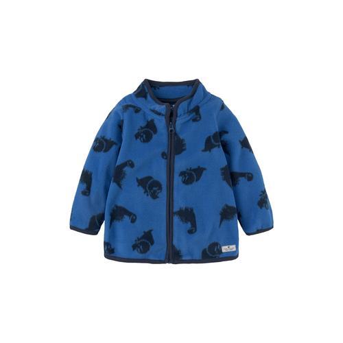 TOM TAILOR Baby Fleecejacke mit Print, blau, Gr.68