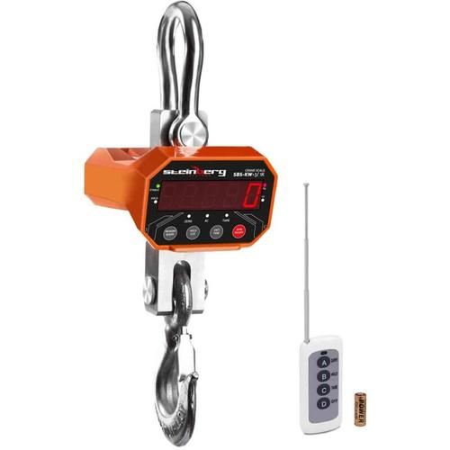 Kranwaage Waage Industriewaage Hängewaage Lastenwaage LED bis 1 Kg 3000 Kg Akku