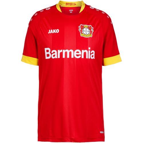 JAKO Bayer 04 Leverkusen 20-21 Auswärts Trikot Herren in rot, Größe XL