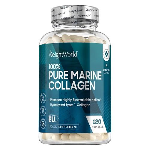 Reines Meereskollagen - 1755mg - 120 Kapseln - Anti Aging