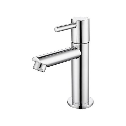 Kaltwasser Armatur für Bad Wasserhahn Bad Kaltwasserhahn Standventil chrom Wasserhahn Armatur