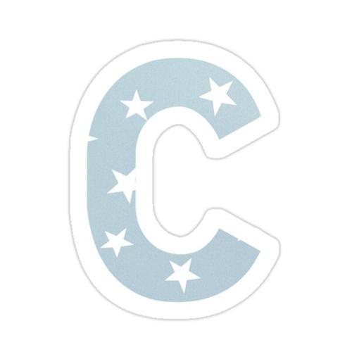 C sticker Sticker