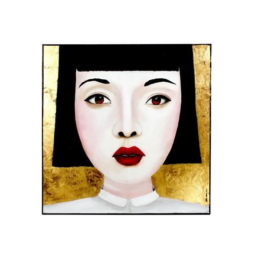 VOSS Design »Jingjing« Bild mehrfarbig 100x100 cm