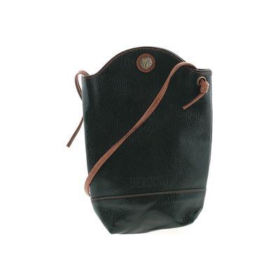 Fashion Crossbody Bag: Green Solid Bags