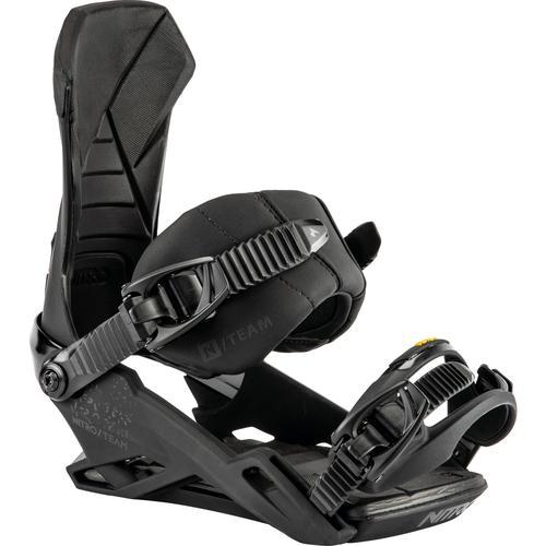 Nitro Snowboards TEAM Snowboardbindung in ultra black, Größe M