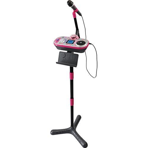 Vtech Mikrofon Kidi Super Star DJ Studio, pink rosa Kinder Mikrofone Zubehör für TV Heimkino