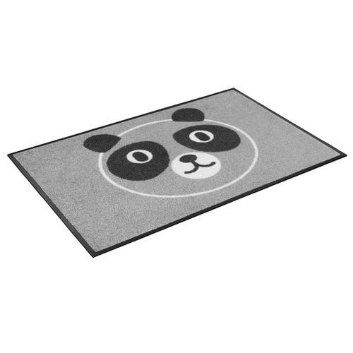 wash+dry by Kleen-Tex Fußmatte Bao Bao, rechteckig, 7 mm Höhe, Fussabstreifer, Fussabtreter, Schmutzfangläufer, Schmutzfangmatte, Schmutzfangteppich, Schmutzmatte, Türmatte, Türvorleger, In- und Outdoor geeignet, waschbar grau Schmutzfangläufer Läufer...