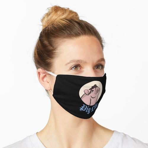 Schweineleben Lustiges Mini-Schwein Maske