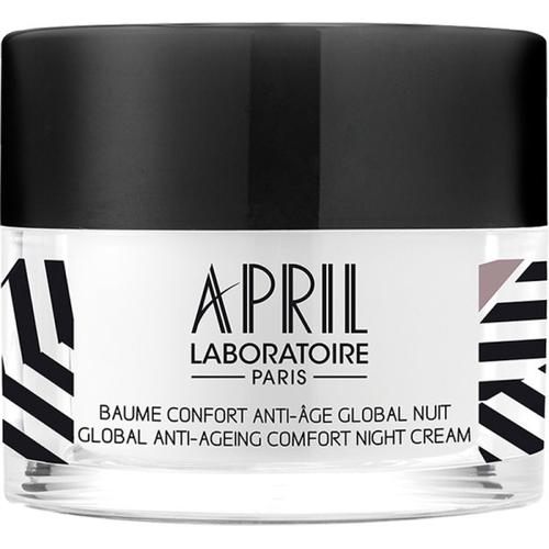 April Paris Baume Confort Anti-âge Global Nuit / Global Anti-ageing Comfort Night Cream Pot / Jar 50 ml Nachtcreme
