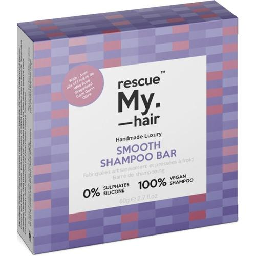 rescue My. hair Smooth Shampoo Bar 80 g Festes Shampoo