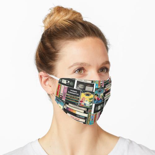 VHS-Erinnerungen Maske
