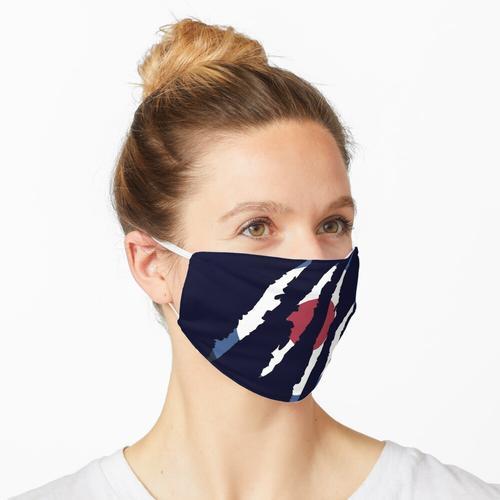 Stiles zerrissenes Hemd Maske