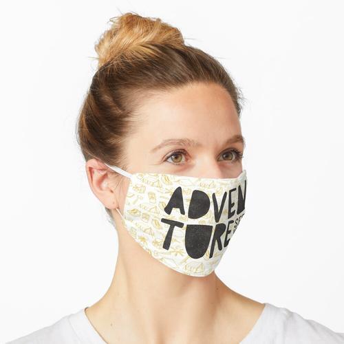 Abenteuersuchender Maske