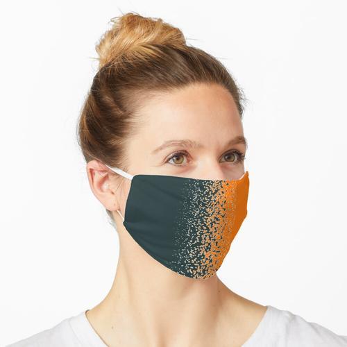 Geschreddert ORANGE Maske