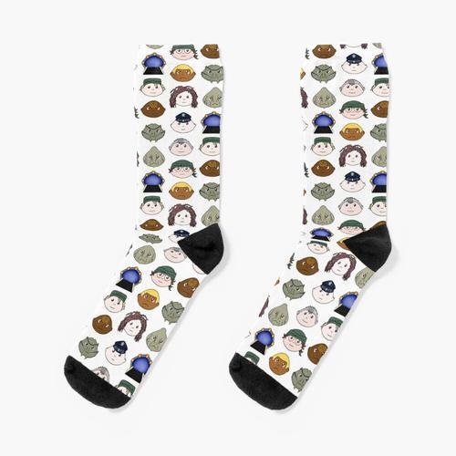 SG1 Muster Socken