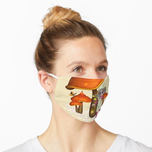 eine Laterne tragen .. liebe Feen Maske