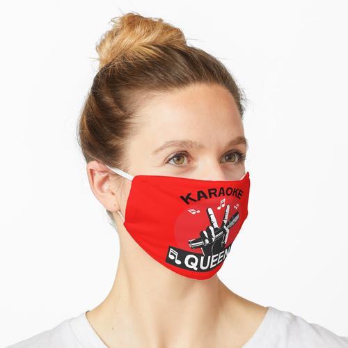 Karaoke Queen - Karaoke Cd - Karaoke für Kinder - Karaoke Home Gifts - Karaoke-T-Shirt - Kara Maske