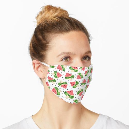 Wassermeloneneis Maske