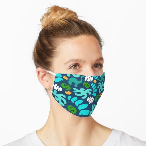 Prähistorisches Muster Maske