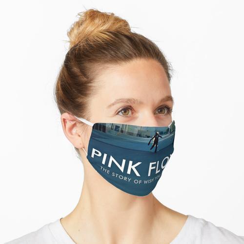 Blauer Feuerfloyd Maske