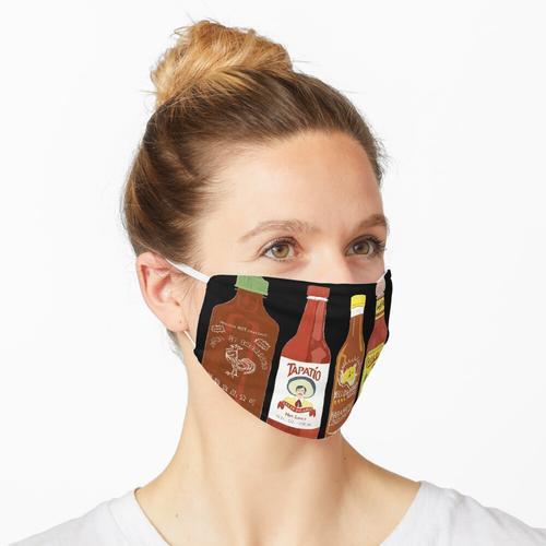 würzigere Sauce und mehr Kunst! Maske
