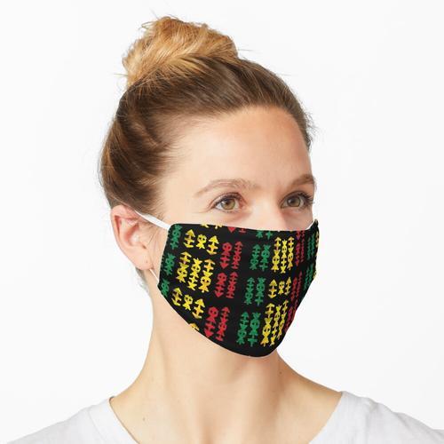 Rasta Message Maske