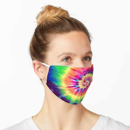 Tie-Farbstoff Maske