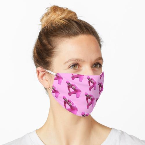 Pinker Kerl Maske