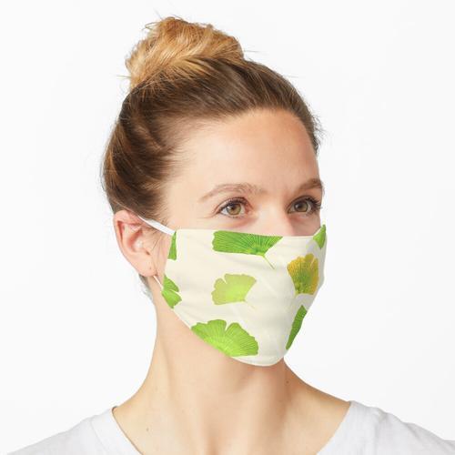 Blätter von Ginkgo biloba Maske