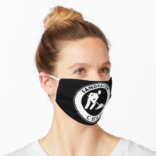 Sandkasten Chef Maske