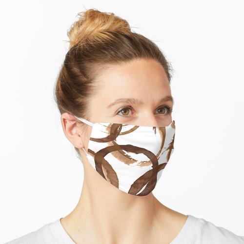 Kaffee Flecken, Kaffee Süchtigen Drucken Maske