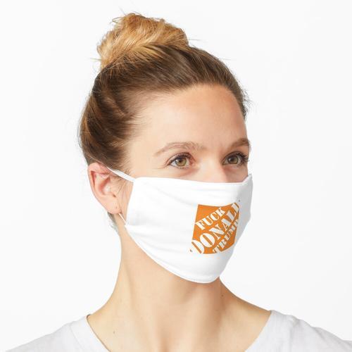 Fuck Trump Depot Maske